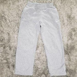 Nike Grey Sweat Pants Youth Size S